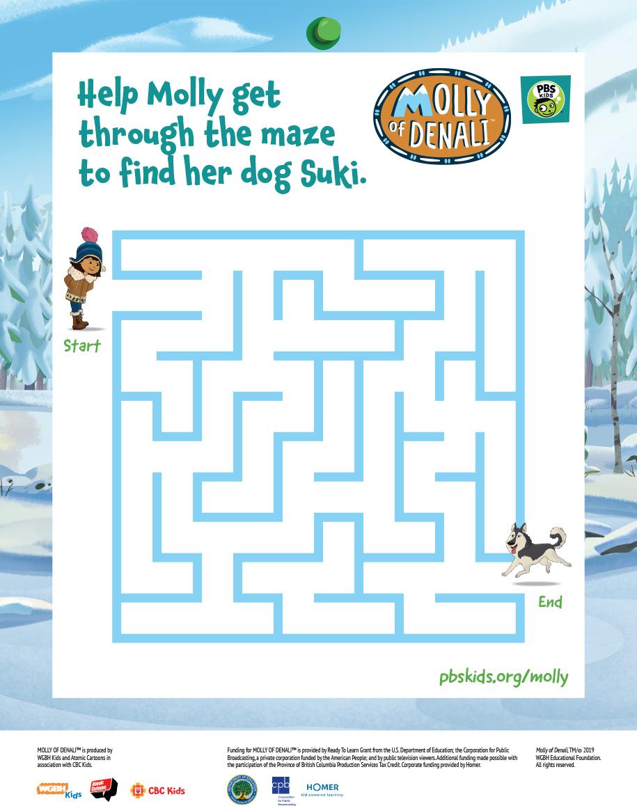 Molly of Denali Suki Maze