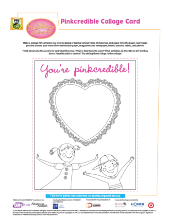 Pinkalicious Collage Activity