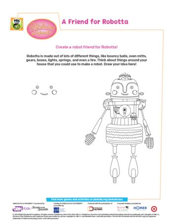 Pinkalicious Robotta Activity