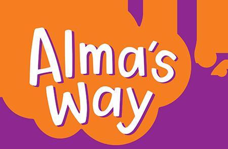 Alma's Way logo.