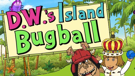 D.W.'s Island Bugball