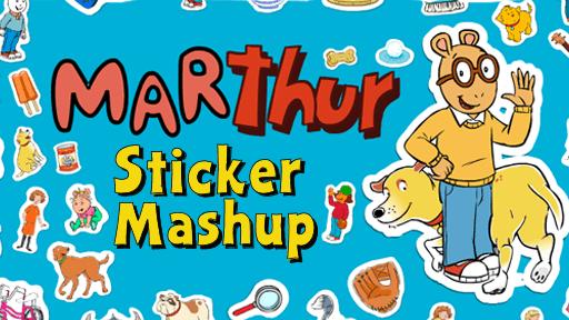 Marthur Sticker Mashup