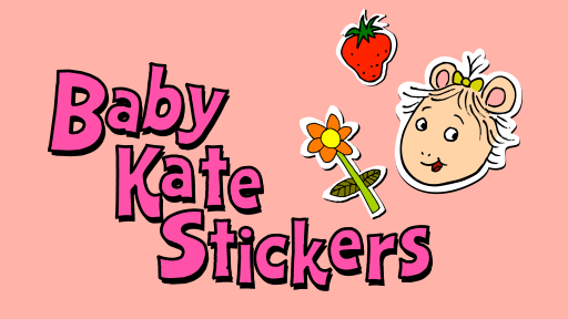 Baby Kate Stickers
