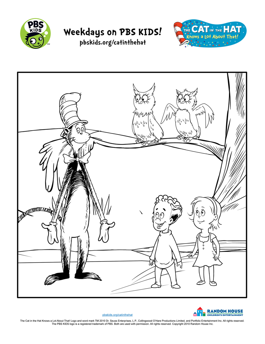 the cat in the hat printable activities pbs kids