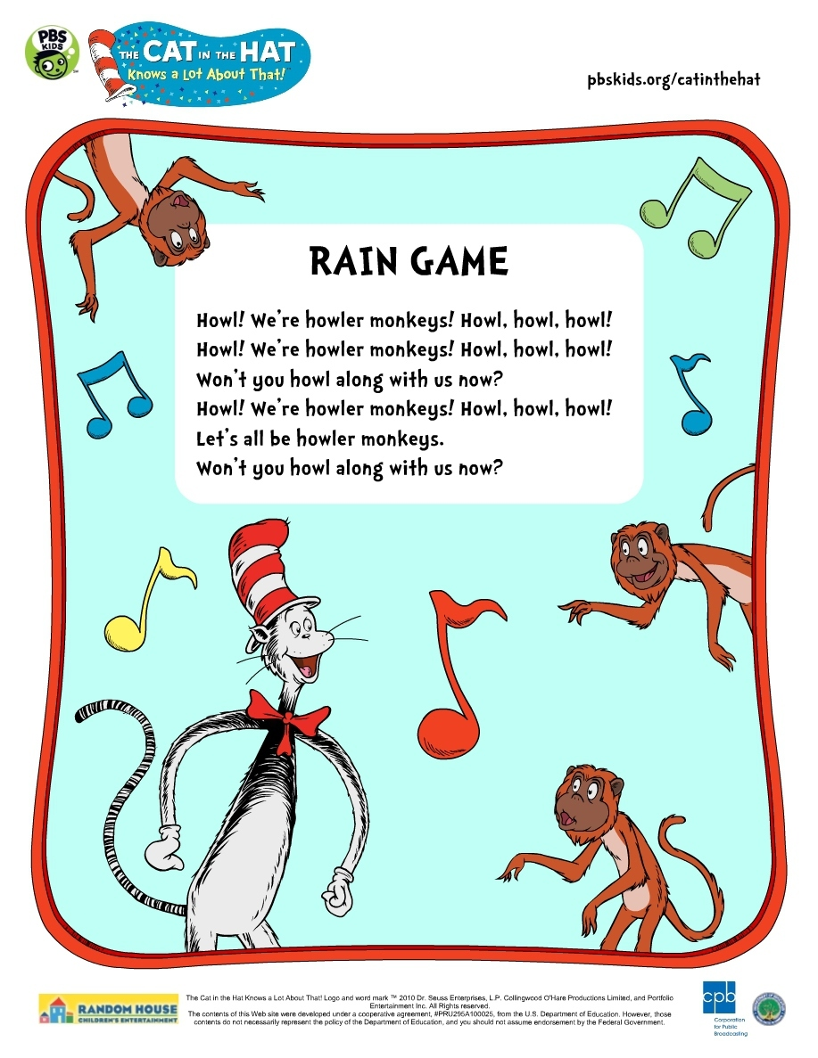 photograph regarding Printable Cat in the Hat identified as The Cat in just the Hat . Printable Actions PBS Little ones