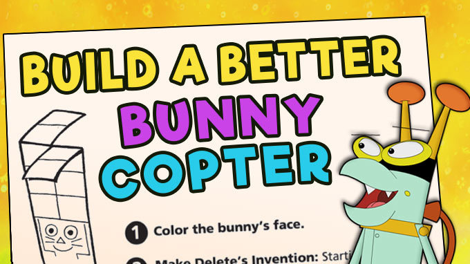 Build a Better Bunny Copter