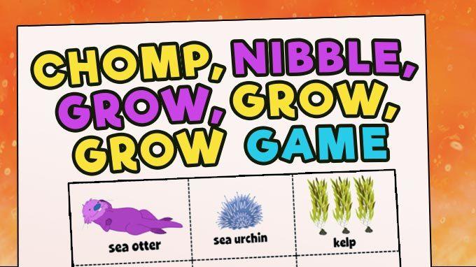Chomp, Nibble, Grow, Grow, Grow Game