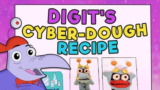 Digit's Cyber-Dough Recipe