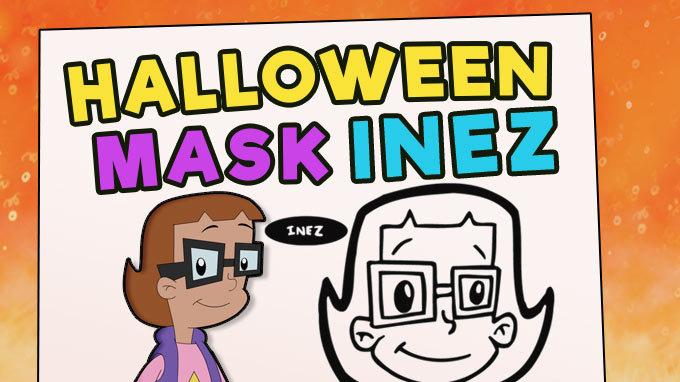 Halloween Mask - Inez