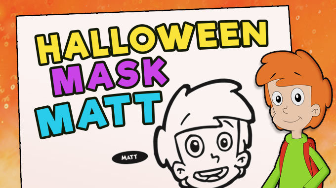 Halloween Mask - Matt