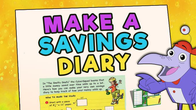 Make a Savings Diary