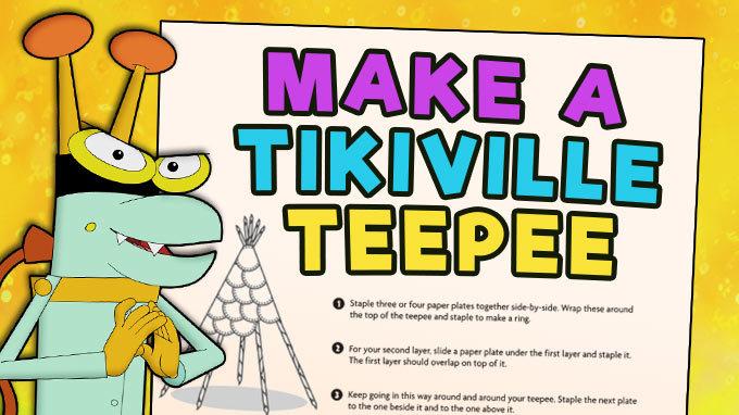 Make a Tikiville Teepee