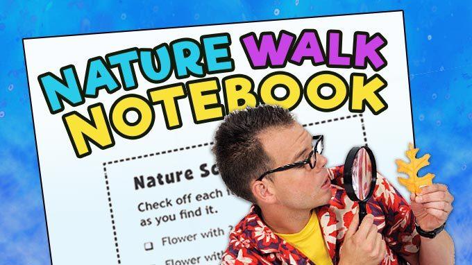 Nature Walk Notebook