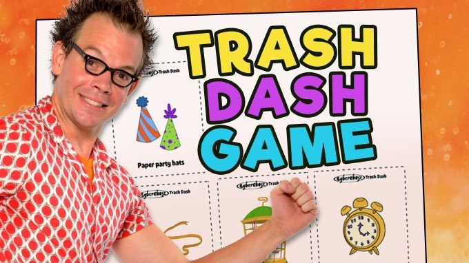Trash Dash Game
