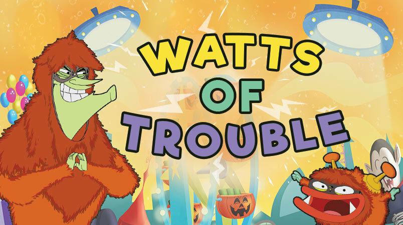 Watts of Trouble Halloween