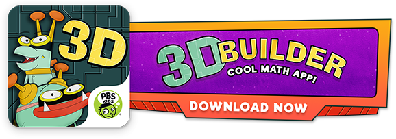 3D Builder Cool Math App!