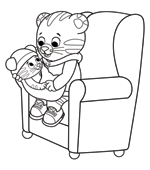 picture regarding Daniel Tiger Printable identify Print Shade Daniel Tigers Nearby PBS Young children