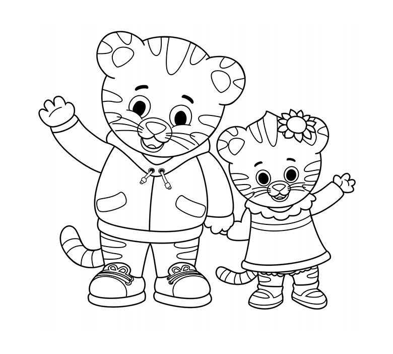 Art Daniel Tiger Pbs Kids