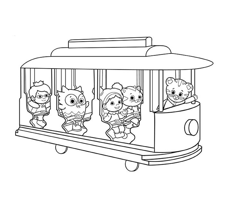 Everyone with Trolley