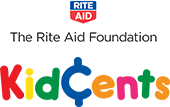 The RiteAid Foundation KidCents logo.