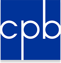 Corporation for Public Broadcasting logo.
