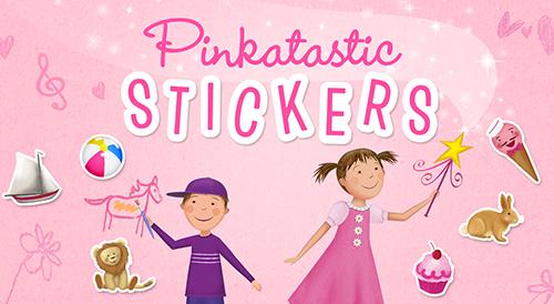 Pinkatastic Stickers