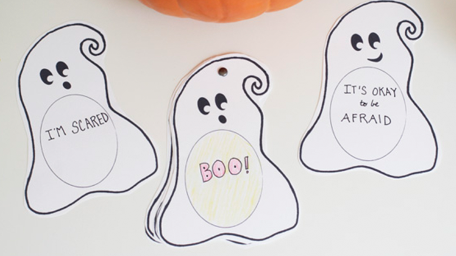 Face Fears Through the Not So Scary Boo Book | Crafts for Kids | PBS KIDS for Parents