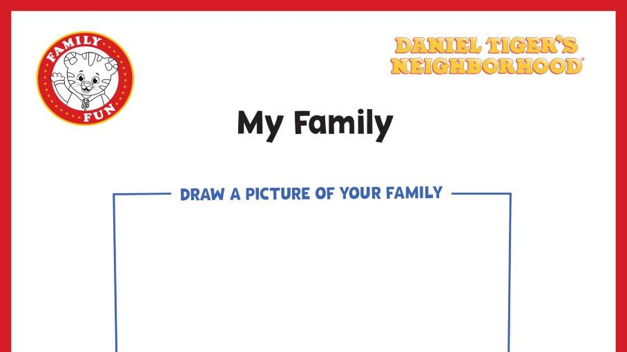 My Family | Kids Coloring Pages | PBS KIDS for Parents