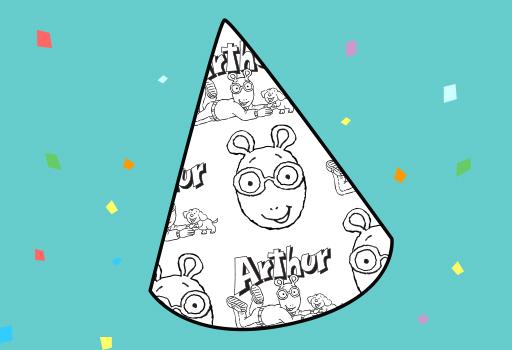 Arthur Party Hat