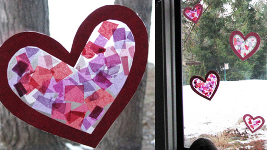 Tissue Paper Stained Glass Crafts For Kids Pbs Kids For Parents