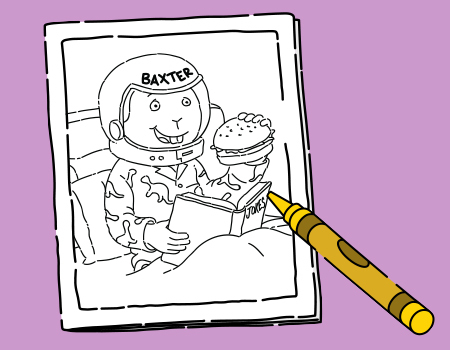 Baxter Day Coloring