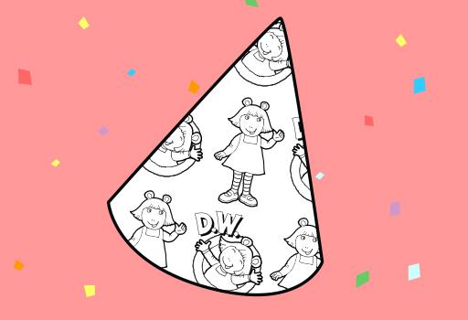 D.W. Party Hat