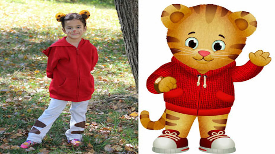 No Sew Daniel Tiger Costume Crafts For Kids Pbs Kids For
