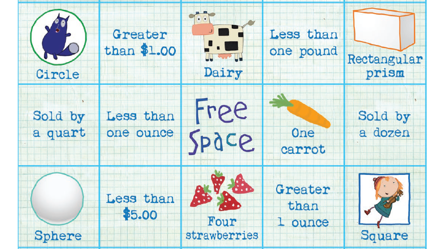 graphic regarding Math Bingo Printable named Grocery Keep Math Bingo Little ones Coloring Web pages PBS Small children