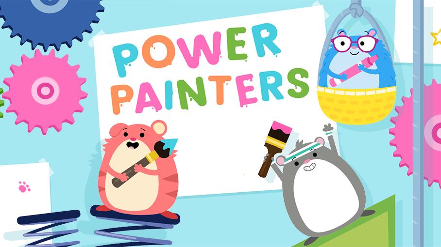 Team Hamster! Power Painters.