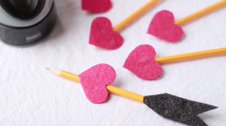 Valentine's Day Pencils | Crafts for Kids | PBS KIDS for Parents