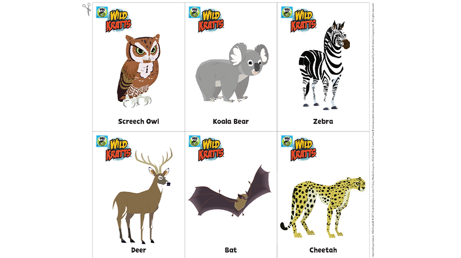 Go Wild Card Game Kids Coloring Pages Pbs Kids For Parents