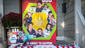 photograph relating to Odd Squad Badge Printable referred to as Weird Squad Birthday Celebration Birthday Bash for PBS Small children