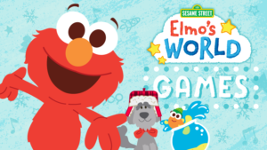 Game icon for Elmo's World.
