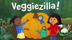 Game icon for Veggiezilla!.
