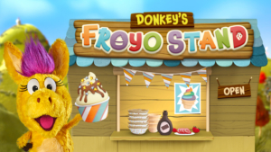 Game icon for Donkey's FroYo Stand.