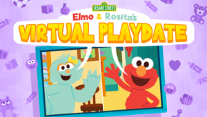 Game icon for Elmo & Rosita's Virtual Playdate.