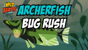 Game icon for Archerfish Bug Rush.