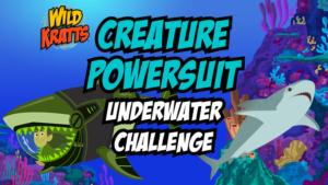 Creature Power Suit Underwater Challenge