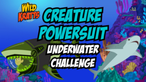 Game icon for Creature Power Suit Underwater Challenge.