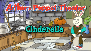 Game icon for Arthur's Puppet Theater: Cinderella.