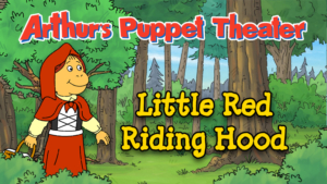 Game icon for Arthur's Puppet Theater: Little Red Riding Hood.