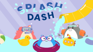 Game icon for Team Hamster! Splash Dash.