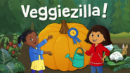 Game icon for Veggiezilla!.