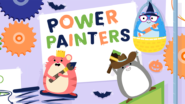 Game icon for Team Hamster! Power Painters.